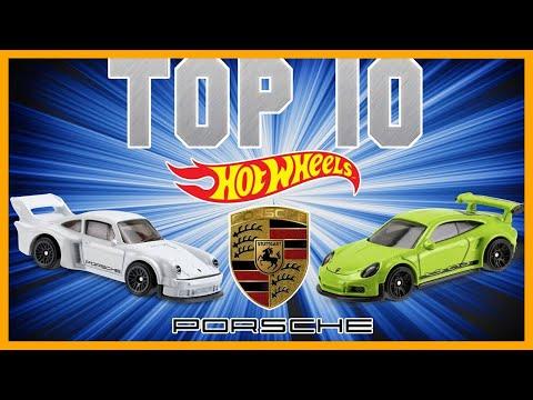 TOP 10 HOT WHEELS PORSCHE !!! *WOW*