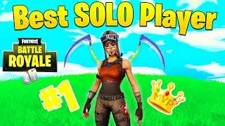 Meet ErycTriceps, The Best Solo Player in Fortnite (#1 Ranked)