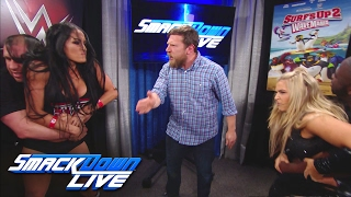Nikki Bella and Natalya engage in a backstage altercation: SmackDown LIVE, Feb. 14, 2017