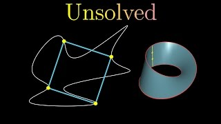An unsolved conjecture, the inscribed square problem, and a clever topological solution to a weaker version of the question, the inscribed rectangle problem (Proof due to H. Vaughan, 1977), that shows how the torus and mobius strip naturally arise in mathematical ponderings.Patreon: https://www.patreon.com/3blue1brownGet 10% your domain name purchace from https://www.hover.com/, by using the promo code TOPOLOGY.Special shout out to the following patrons: Dave Nicponski, Juan Batiz-Benet, Loo Yu Jun, Tom, Othman Alikhan, Markus Persson, Joseph John Cox, Achille Brighton, Kirk Werklund, Luc Ritchie, Ripta  Pasay, PatrickJMT , Felipe Diniz, Chris, Andrew  Mcnab, Matt Parlmer, Naoki Orai, Dan Davison, Jose Oscar Mur-Miranda, Aidan Boneham, Brent Kennedy, Henry Reich, Sean Bibby, Paul Constantine, Justin  Clark, Mohannad Elhamod, Denis, Ben Granger, Ali Yahya, Jeffrey Herman, and Jacob Young------------------3blue1brown is a channel about animating math, in all senses of the word animate.  And you know the drill with YouTube, if you want to stay posted about new videos, subscribe, and click the bell to receive notifications (if you're into that).If you are new to this channel and want to see more, a good place to start is this playlist: https://www.youtube.com/playlist?list=PLZHQObOWTQDPHP40bzkb0TKLRPwQGAoC-Various social media stuffs:Twitter: https://twitter.com/3Blue1BrownFacebook: https://www.facebook.com/3blue1brown/Reddit: https://www.reddit.com/r/3Blue1Brown