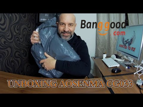 AOSENMA CG033 UNBOXING PRIMO SGUARDO