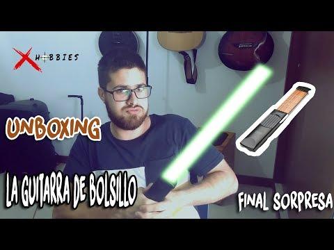 ESTO SUENA COMO UNA GUITARRA? | Unboxing Guitarra de Bolsillo Portable