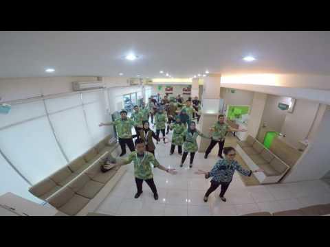 FLASH MOB IMAN ETHIKA Movement BPJS Ketenagakerjaan Lampung Tengah