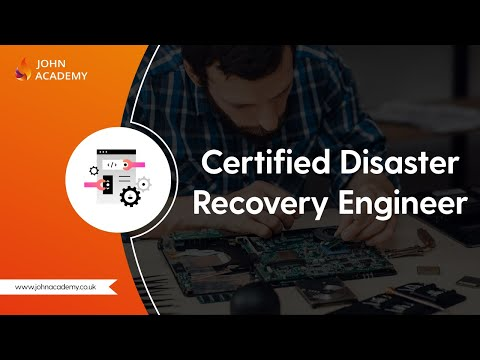 Certified Disaster Recovery Engineer (CDRE) - Complete Video ...
