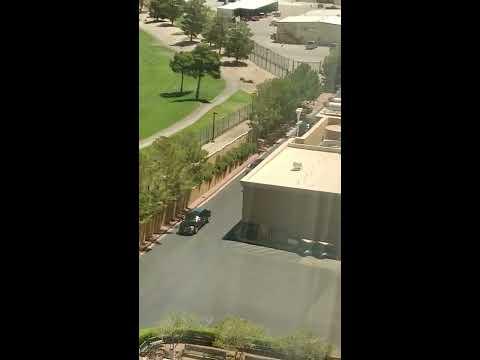 Rob Raskin of Las Vegas footage of President Trump Las Vegas Motorcade