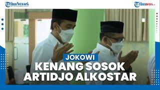 Jokowi Kenang Artidjo Alkostar: Penegak Hukum, Hakim Agung, dan Dewas KPK yang Jujur & Berintegritas