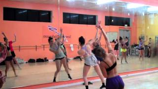 Travis wall choreography