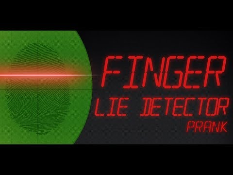 Finger Lügendetektor Video
