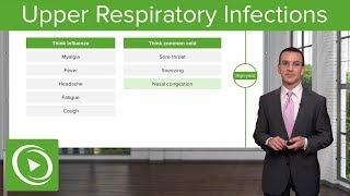 Upper Respiratory Infections – Family Medicine   Lecturio