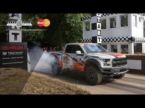 Ben Collins en el Ford F-150 Raptor