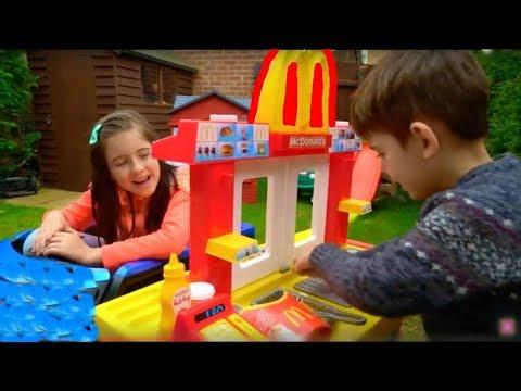 Kids Fun Pretend Play Toy Kitchen Set