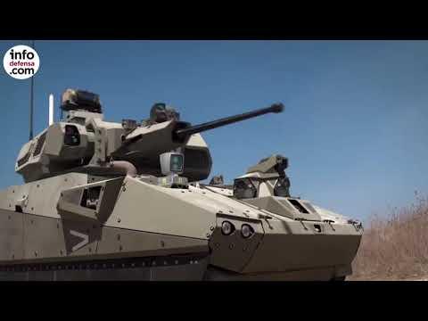 Vehículo de combate de Elbit para el proyecto Carmel de Israel