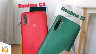 Realme C3 vs Realme 5i Comparison Review
