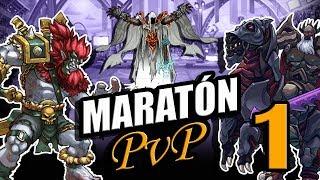 Batallas de Maratón PVP #1 - Mutants Genetic Gladiators