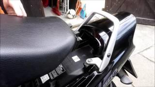 Honda CB 500 Sitzbank ausbauen