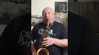 "Robert Anchipolovsky on his 10MFAN Showboat alto sax Mouthpiece playing ""Stars fell on Alabama"""