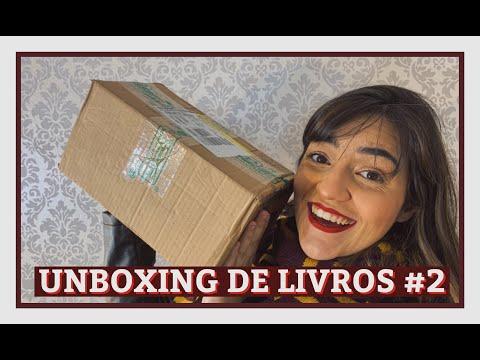 UNBOXING DE LIVROS #2 | comprei vários livros lançamento!