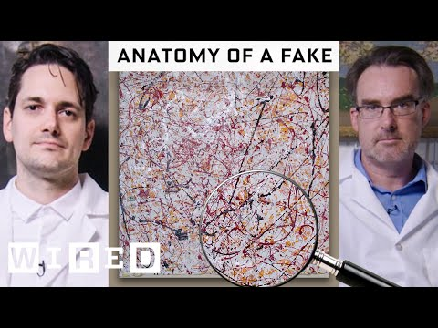 Spotting Art Fakes with Forgery Experts
