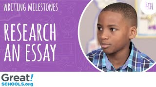 Can your 4th grader do research for an essay? - Milestones from GreatSchools
