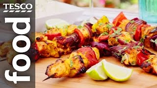 How to Make Indian-spiced Chicken Kebabs