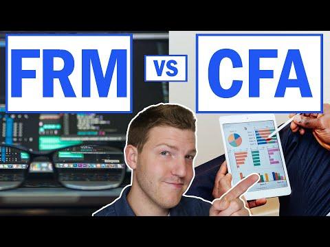 FRM Vs CFA - YouTube