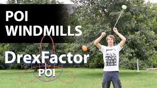 How To Do Poi Windmills: 1-minute Tutorial
