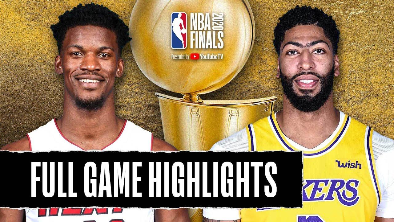 Game 1: Heat vs Lakers - NBA Finals | September 30, 2020