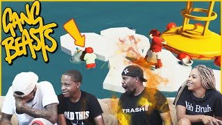 Trent & Juice Challenged Us To A Fist Fight Rematch! (Gang Beast Gameplay)