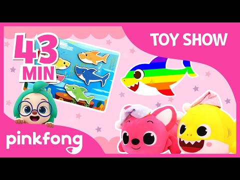 Baby Shark Toy Show | +Compilation | Pinkfong Songs for Children