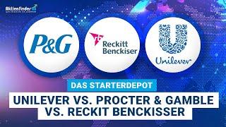 Das Starterdepot Teil 9 - Unilever vs. Procter & Gamble vs. Reckit Benckisser