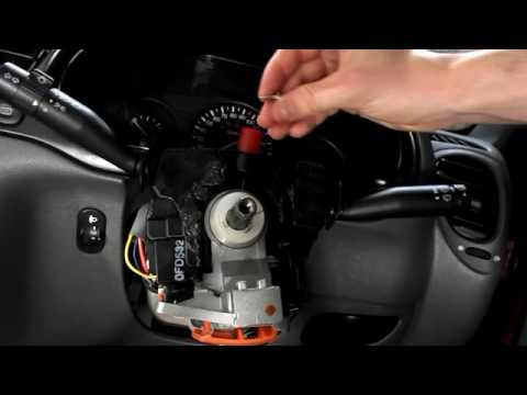 Ford Fiesta Steering Column Switches Removal