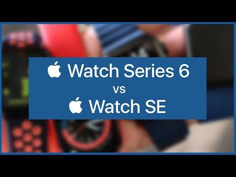 ¡Tengo los dos! 🤪 Apple Watch Series 6 vs Apple Watch SE 🤔 ¿CUÁL COMPRAR?