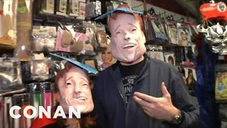 Conan Visits The Halloween Store - CONAN on TBS - Video Youtube