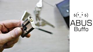 Lockpicking: ABUS Profil-Zylinder Buffo öffnen + wie funktioniert ein Schloss - Mosch