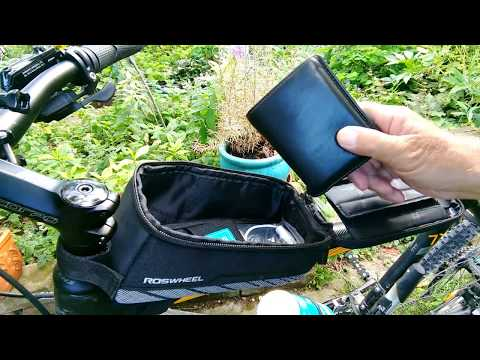 Tipp: Roswheel - bicycle bag  - Fahrrad Rahmentasche