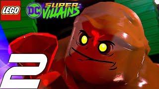 LEGO DC Super Villains - Gameplay Walkthrough Part 2 - Riddler & Clayface (Full Game)
