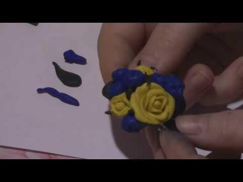 Обзор набора :Брошь из полимерной глины\Создаем брошь своими руками(МК)\Школа талантов.