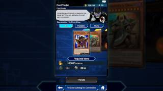 Yugioh duel links how to unlock the card trader