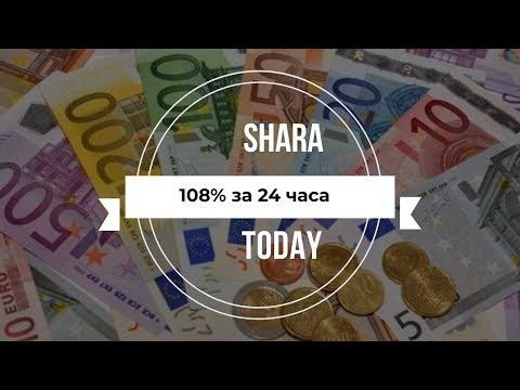 SHARA TODAY Latypay L400004 отзывы 2019, обзор, платит, Начисления 108% за 24 часа