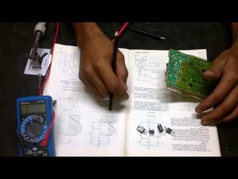 como testar os principais componente da placa