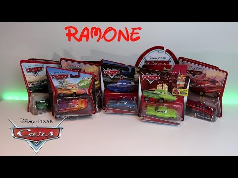 Opened 15 Disney Pixar Cars Ramone Diecast Cars - Ramone Collection