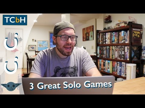 Cardboard Cutouts - 3 Great Solo Games