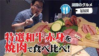 【湖国のグルメ】福福園【特選和牛赤身焼肉】