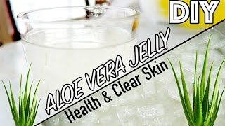 DIY Cooking With Mom: Aloe Vera Jelly for Health & Skin