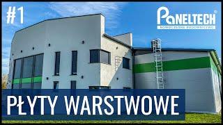Płyty warstwowe Paneltech - Wytwórnia konstrukcji stalowych w Bodzanowicach