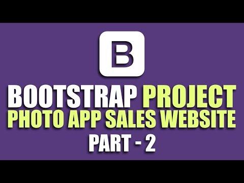 Learn Bootstrap by building project | Navbar \u0026 Jumbotron | Part 2