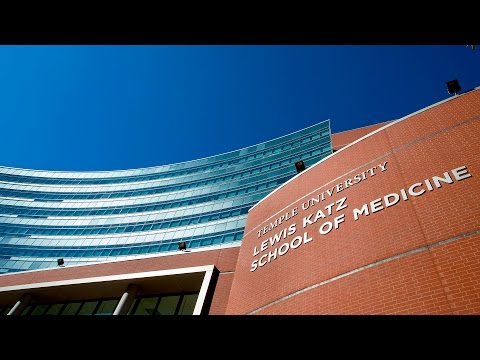 Lewis Katz School of Medicine Building Dedication
