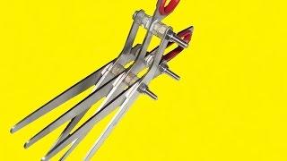 Рыболовные ножницы для нарезки червей
