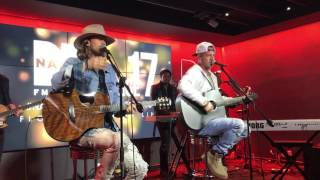 Florida Georgia Line - Anything Goes - at Nash FM in NYC - March 18, 2017