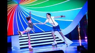 Maria & Anelin, patinaj artistic pe scena Next Star!